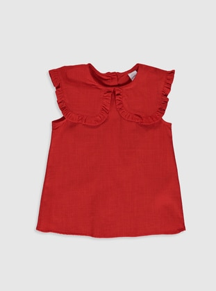 Red - baby shirts