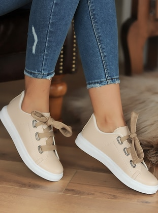 Casual - Sport - Beige - Casual Shoes