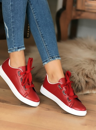 Casual - Sport - Red - Casual Shoes
