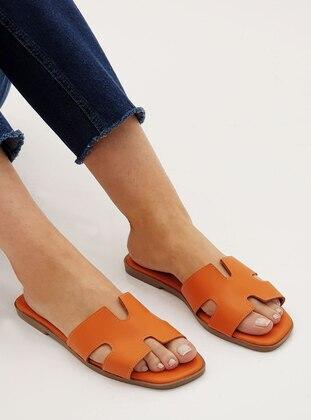 Orange - Slippers