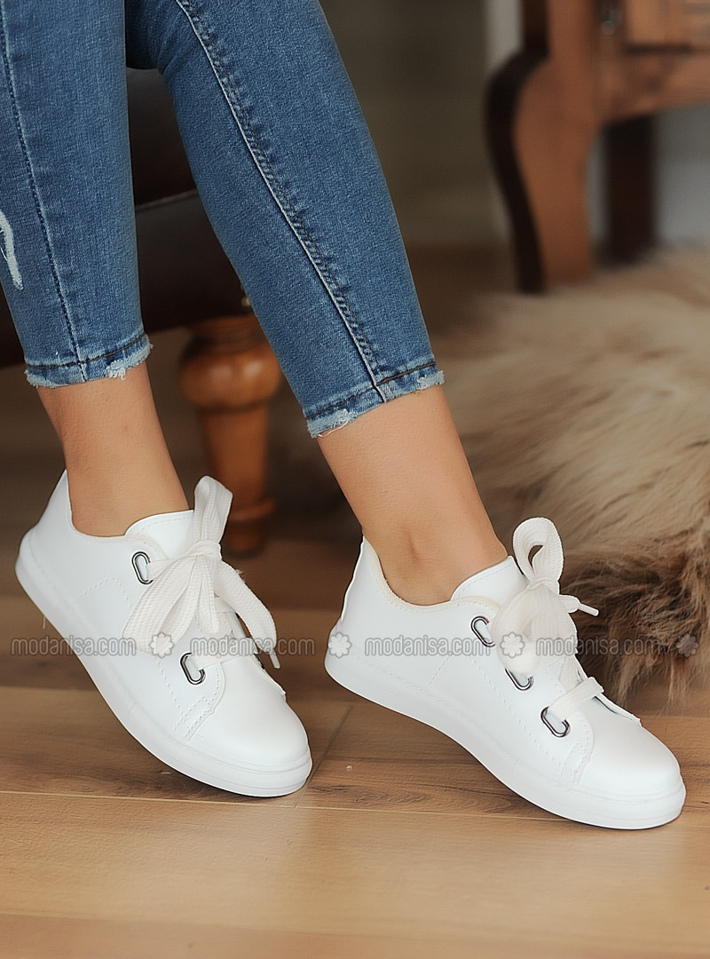 Casual - Sport - White - Casual Shoes