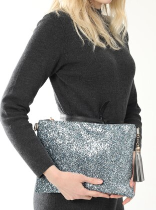 Blue - Clutch - Clutch Bags / Handbags