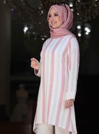 Unlined - Powder - Stripe - Nylon - Viscose - Evening Suit