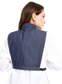 Navy Blue - Denim - Skirt