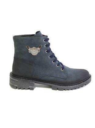 Navy Blue - Boots
