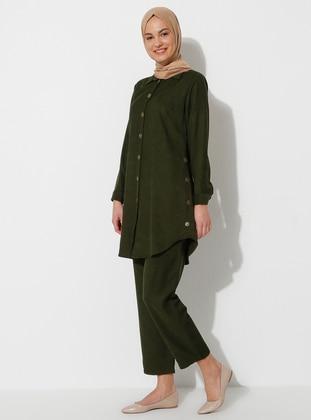Khaki - Fully Lined - Suit