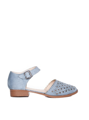 Baby Blue - Flat - Flat Shoes