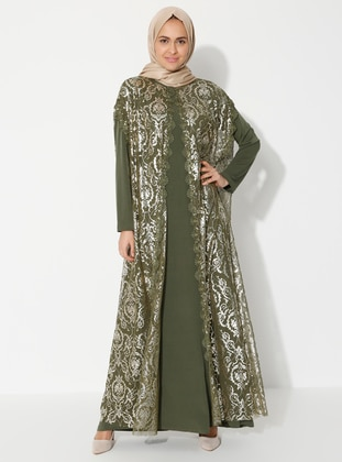 Green - Multi - Unlined - Suit