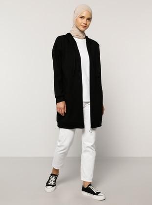 Black - Unlined -  - Topcoat