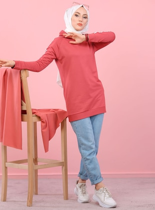 Dusty Rose -  - Tracksuit Top - Tofisa Sports