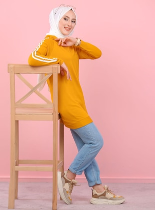 Mustard -  - Tracksuit Top - Tofisa Sports
