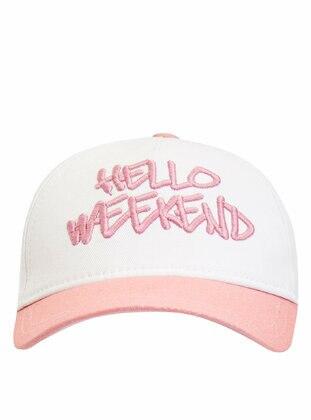 White - Girls` Hat
