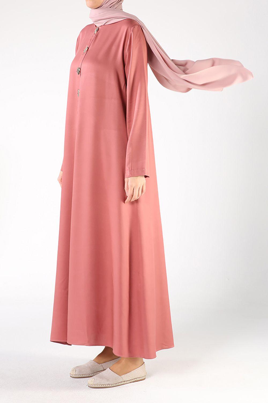 Tesettür Büyük Beden Elbiseler Allday Karışık Kadın 36