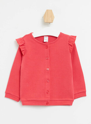 Red - Baby Cardigan - DeFacto