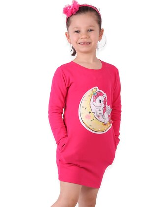 Fuchsia - Girls` Tunic - Breeze Girls&Boys