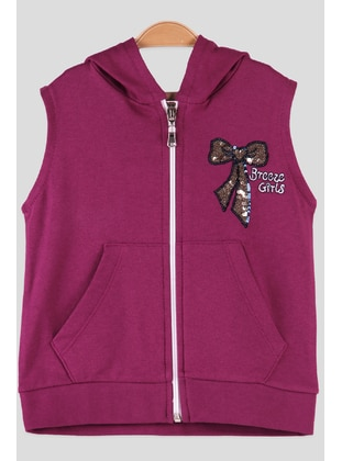 Plum - Girls` Vest - Breeze Girls&Boys