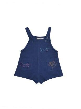 Sweatheart Neckline - Navy Blue - Overall - Cigit