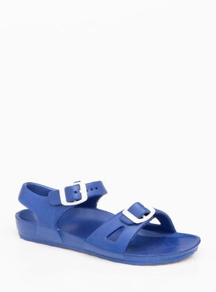 Navy Blue - Boys` Sandals