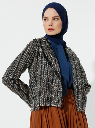 Multi - Shawl Collar - Jacket