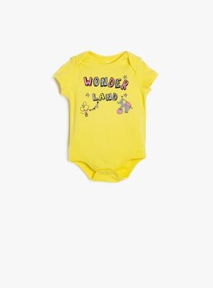 Yellow - baby bodysuits