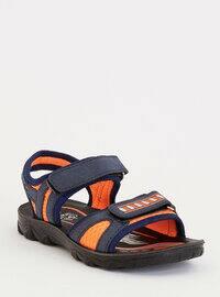 Navy Blue - Boys` Sandals