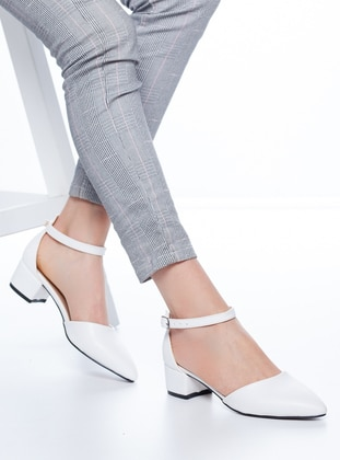 White - High Heel - Heels