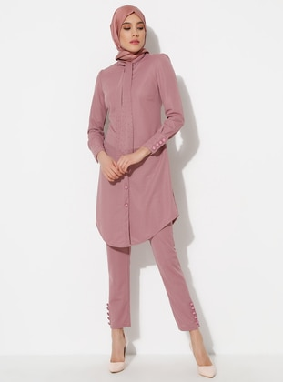 Dusty Rose - Crew neck - Evening Suit