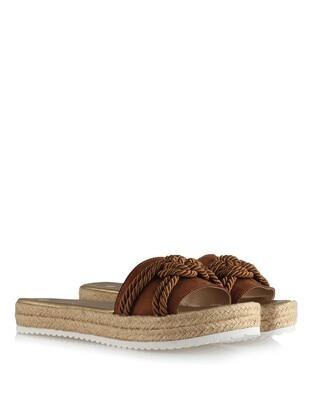 Tan - Slippers