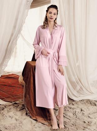 Powder -  - Viscose - Morning Robe