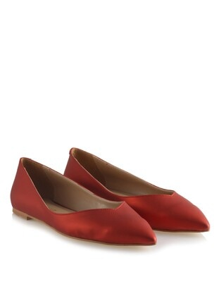 Terra Cotta - Flat Shoes
