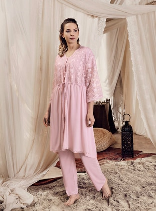 Powder -  - Viscose - Morning Robe