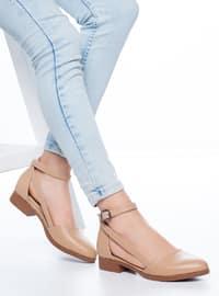 Nude - High Heel - Flat Shoes
