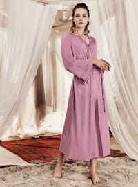 Dusty Rose -  - Viscose - Morning Robe