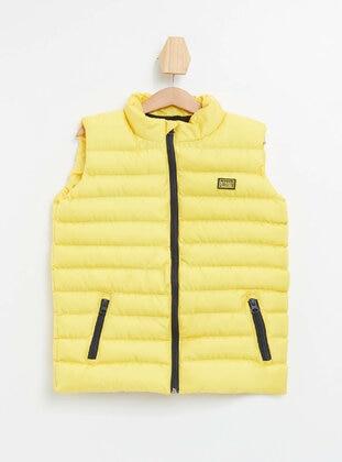 Yellow - Boys` Vest