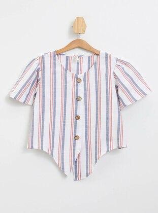 Red - Girls` Shirt - DeFacto