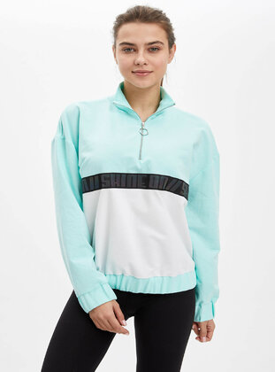 Turquoise - Tracksuit Top