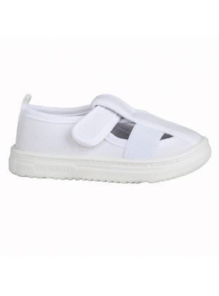 White - Girls` Sandals - Sanbe