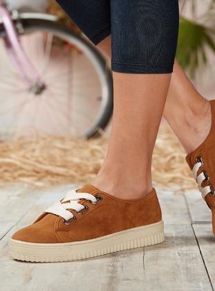 Tan - Sports Shoes