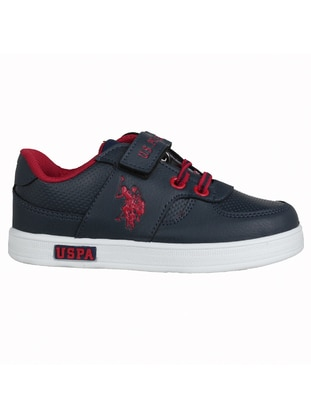 Navy Blue - Boys` Shoes - U.S. Polo