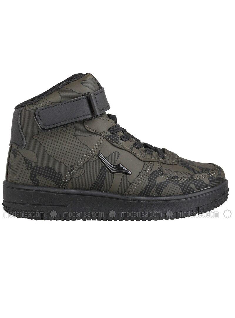 Khaki - Boys` Shoes