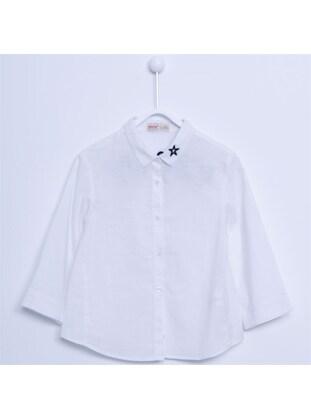 White - Girls` Shirt - Silversun