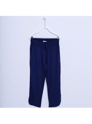 Navy Blue - Girls` Pants - Silversun