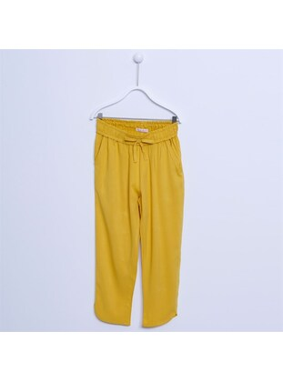 Yellow - Girls` Pants - Silversun