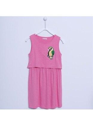 Pink - Girls` Dress - Silversun