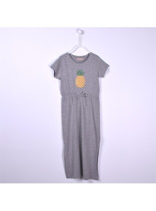Gray - Girls` Dress - Silversun