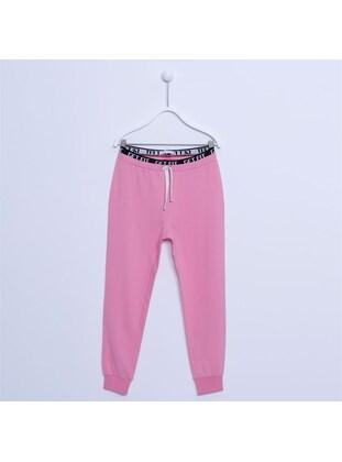 Pink - Girls` Pants - Silversun