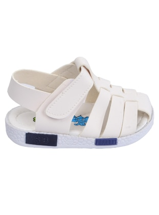 White - Boys` Sandals