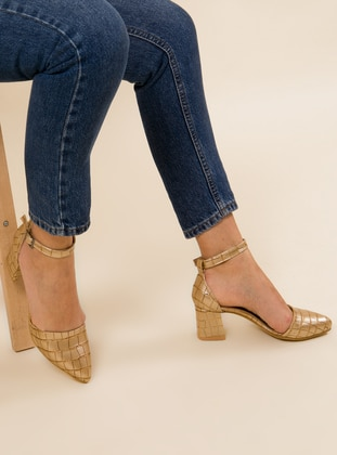 Gold - High Heel - Heels
