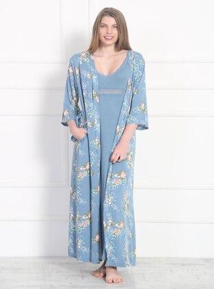 Mint - Viscose - Morning Robe