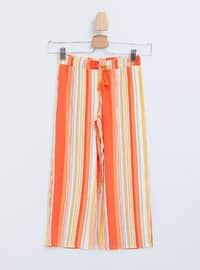 Orange - Girls` Pants